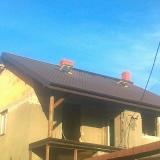 """""""Dach nad dachem"""" - dom murowany"""