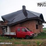 Wolbrom - dachówka karpiówka (po budowie dachu)
