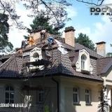 Dach k. Częstochowy - dachówka zakladkowa