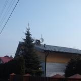 """""""Dach nad dachem"""" - dom drewniany"""