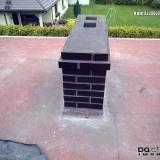 Murowanie kominów z klinkieru