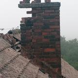 Remont kominów - obudowa z paneli blaszanych